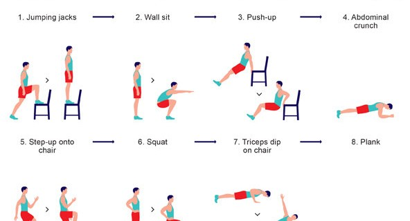 Upper and Lower Body Exercises